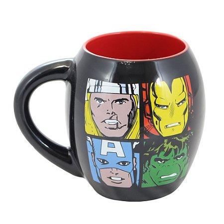 Caneca Oval 530ml Os Vingadores -Marvel