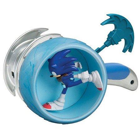 Boneco Sonic Boom Articulado c/ Roda e Lançador - Tomy Oficial