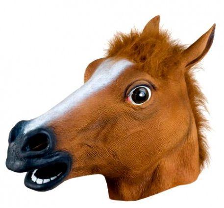 Máscara Cabeça de Cavalo Horse mask - Fantasia  / Cosplay