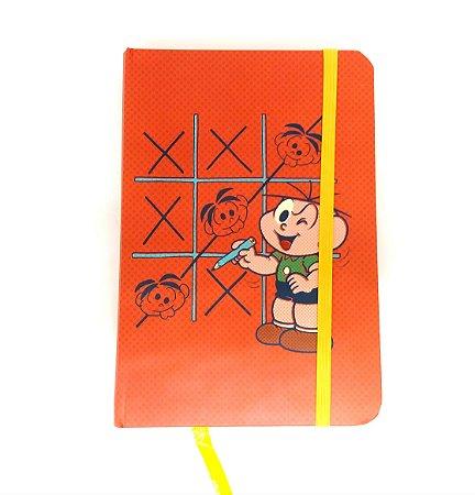 Caderneta de Anotações Cebolinha, Jogo da Velha - Turma da Mônica