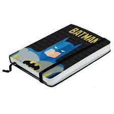 Caderneta Batman Minimalista - DC Comics