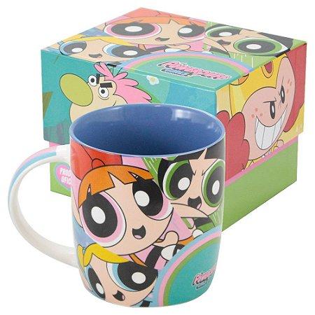 Caneca de Porcelana Meninas Super Poderosas - Cartoon Network