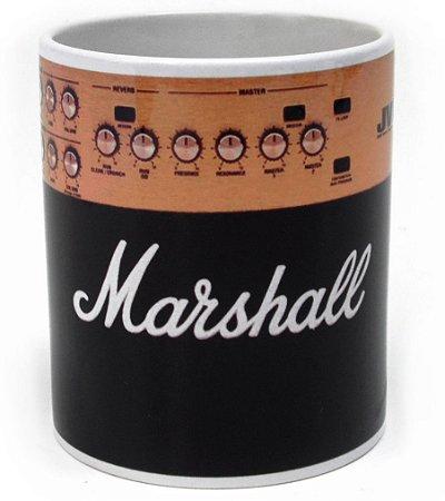 Caneca Porcelana 330ml Amplificador Marshall