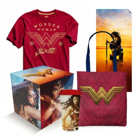GiftBox Mulher Maravilha - Tamanho M -  DC Comics