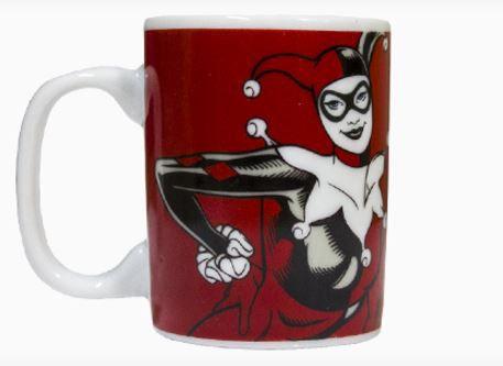 Caneca Porcelana Mini Harley Quinn - DC Comics