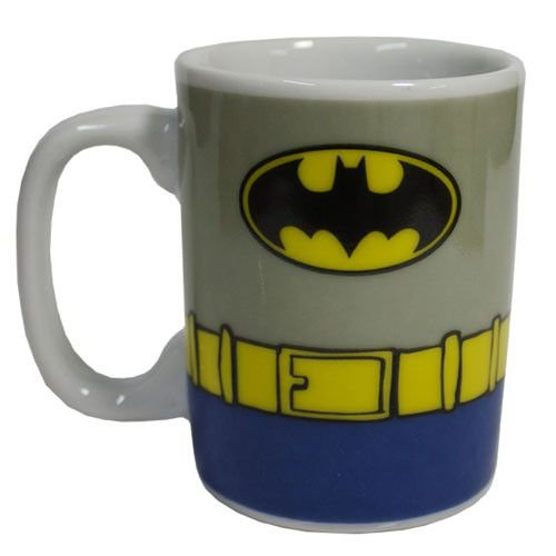 Caneca Porcelana Mini Batman Uniforme - DC Comics