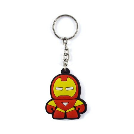 Chaveiro Emborrachado Cute Ironman
