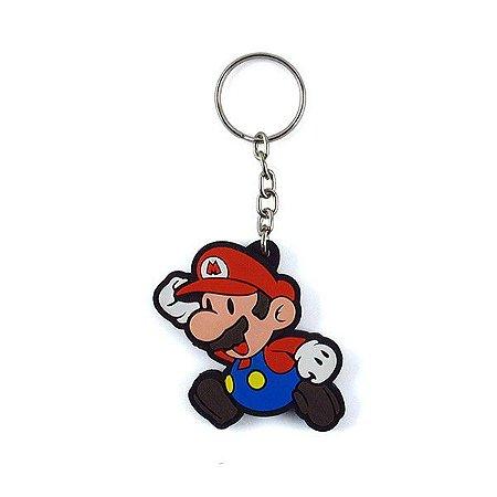 Chaveiro Emborrachado Cute Mario