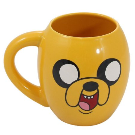 Caneca Oval 530ml Jake Hora de Aventura - Cartoon Network