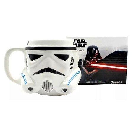 Caneca Porcelana 3D StormTrooper - Star Wars