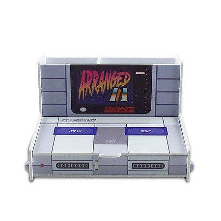 Porta Objetos / Porta Trecos Console Super Nintendo