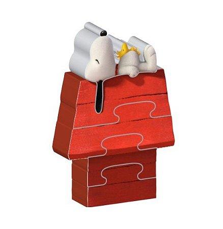 Quebra Cabeça Puzzles Mania Casa Snoopy