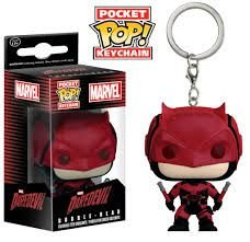 Pocket POP! Funko Chaveiro Demolidor - Marvel