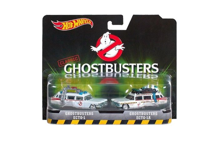 Miniaturas Hot Wheels GHOSTBUSTERS - Caça Fantasmas