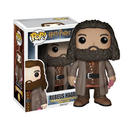 "Super Size POP! Harry Potter: Rubeus Hagrid 6"" Polegadas #07 - Funko"