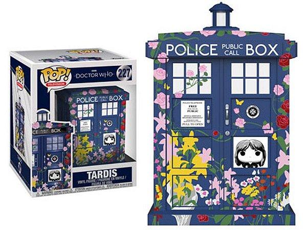 Super Size Pop! Television - Doctor Who: Máquina Tardis  (Clara Memorial) #227| Funko