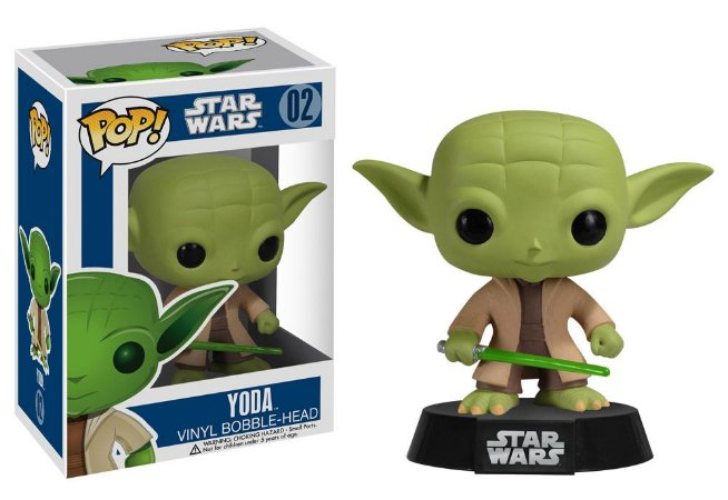 Pop! Funko Star Wars Serie 1 Yoda #02