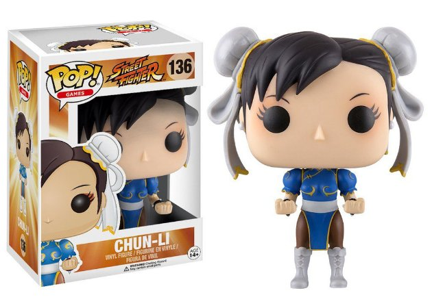 Pop! Funko Games: Street Fighter Chun-Li #136