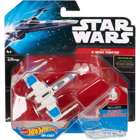 Resistance X-Wing Fighter Star Wars Naves Hot Wheels