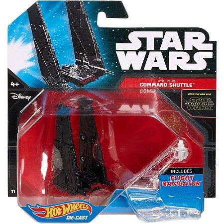 Kylo Ren's Comand Shuttle Star Wars Naves Hot Wheels