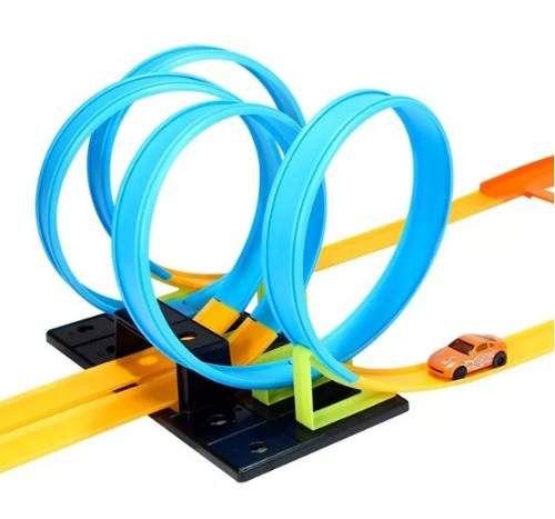 Pista Looping 360º  4 Voltas c/ Carrinho - ArtBrink