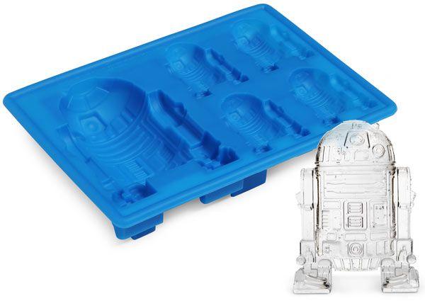 Forma de Gelo e Chocolate em Silicone - R2D2