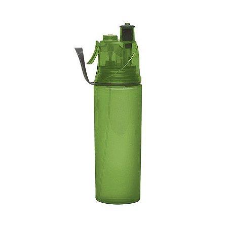 Squeeze com Borrifador Spray 600ml - Verde