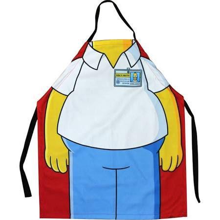 Avental de Cozinha c/ Alça Regulável - Homer Simpson