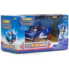 Carrinho de fricção - Sonic and All Stars Racing Transformed
