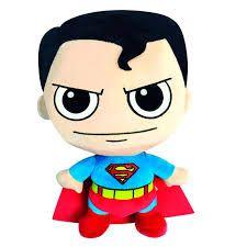 Pelúcia Super Fun Liga da Justiça - Super Homem - DC Comics