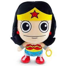 Pelúcia Super Fun Liga da Justiça - Mulher Maravilha - DC Comics
