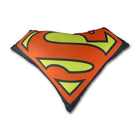 Almofada Recortada Shape Super Homem Logo - DC Comics
