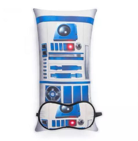 Almofada e Máscara Star Wars - R2D2