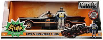 Carro Colecionável Metals Die Cast - Batmobile Clássico TV - Batman & Robin