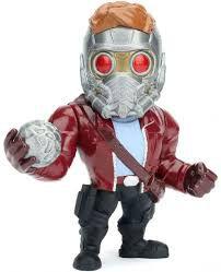 Figura Colecionável Metals Die Cast Marvel Star Lord - Guardiões da Galáxia
