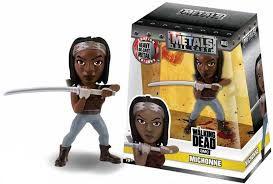 Boneco Colecionável Metals Die Cast Michonne - Walking Dead