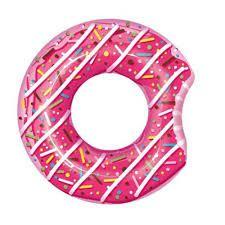 Boia Inflável 107cm BestWay - Donut Rosa