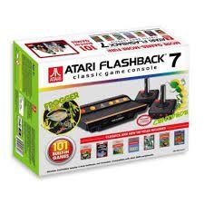 Atari Flashback 7 - Console c/ 101 Jogos na Memória e 2 Joystick sem fio