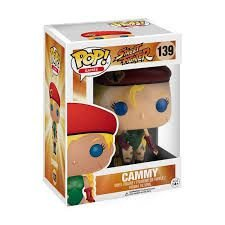POP! Funko - Street Fighter - Cammy #139