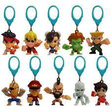 Chaveiros Street Fighter - Embalagem Surpresa