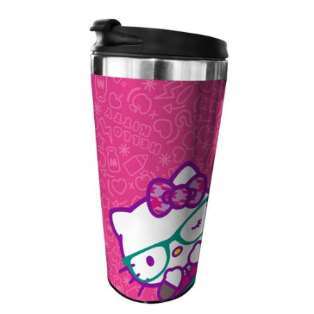 Copo Térmico 500ml - Hello Kitty