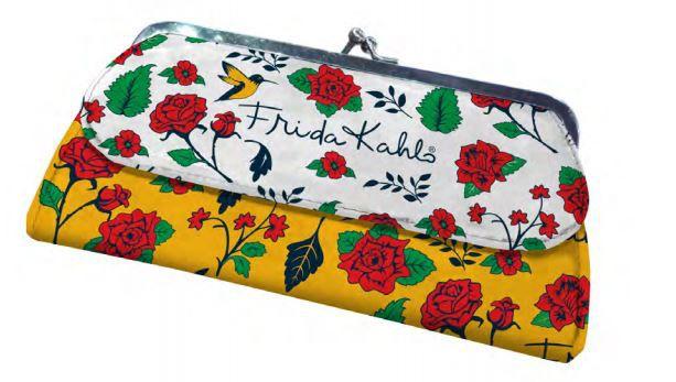 Carteira com Fecho de Metal - Frida Kahlo