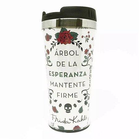 Copo Térmico 500ml Frida Kahlo - Arbol de la Esperanza