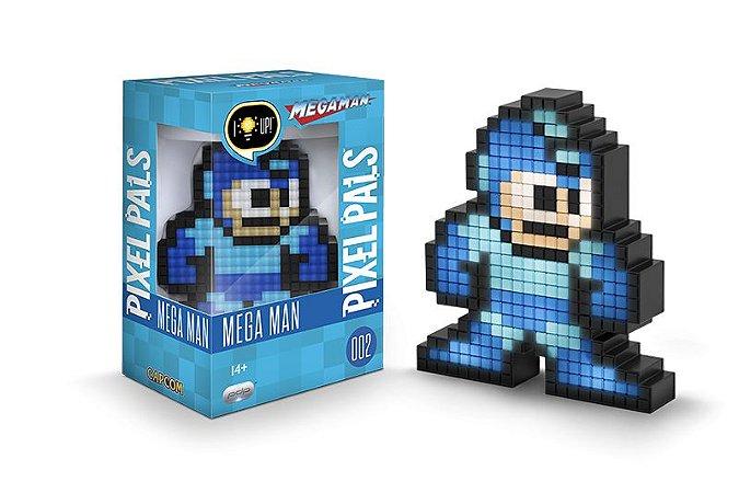Luminária 8 Bit Pixel Pals - Megaman