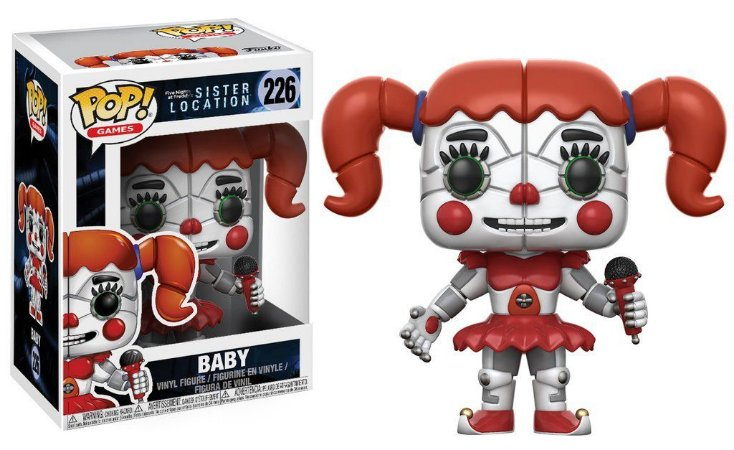 POP! Funko Five Night at Freddys |Sister Location - Baby #226