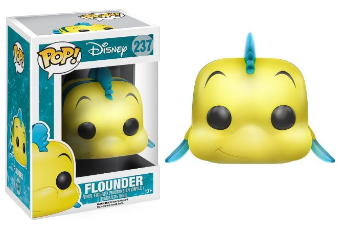 POP! Funko Disney - A Pequena Sereia - Flounder | Linguado #237