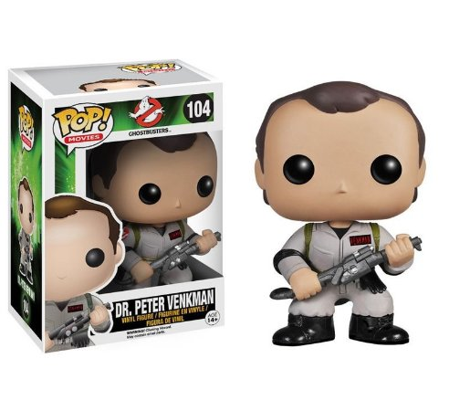 POP! Funko GhostBusters - Dr.Peter Venkman #104