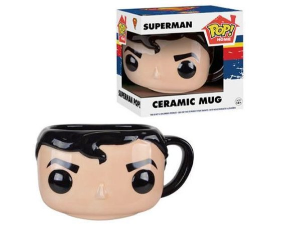 POP! Home Caneca Cerâmica Superman - DC Comics