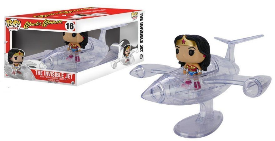 POP! Funko Wonder Woman - Invisible Jet
