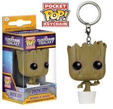 Pocket POP! Funko Chaveiro - Dancing Groot - Guardiões da Galáxia